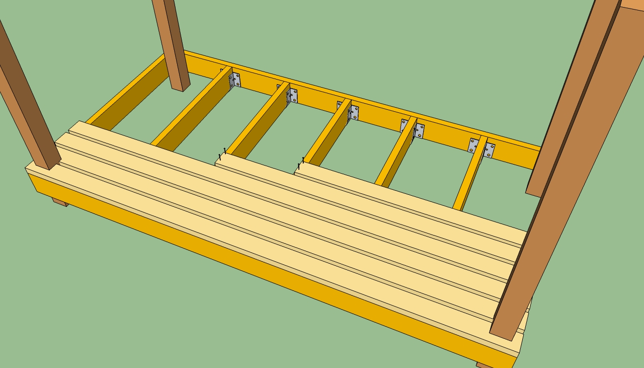 How to guide building decking ray grahams diy store for The range decking boards