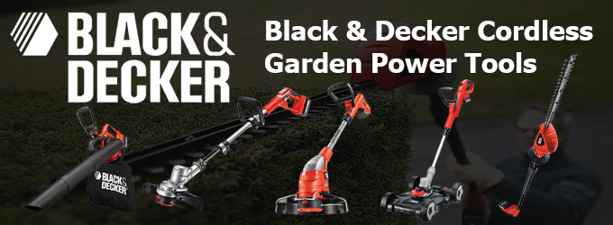 Black Decker Cordless Garden Power Tool Range Ray Grahams DIY