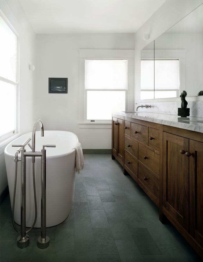 Natural Lit Bathroom