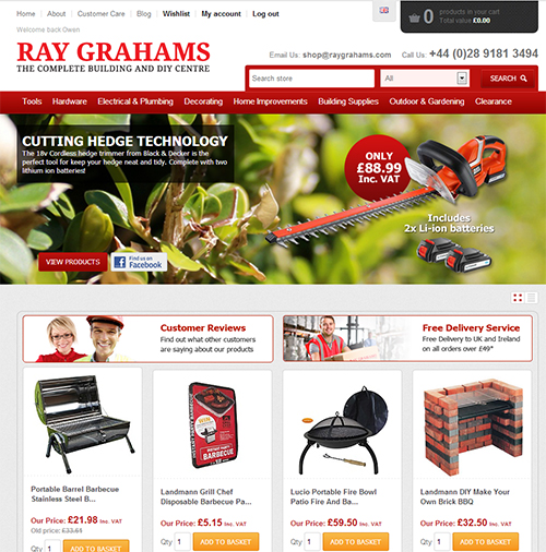 Ray Grahams Online Store