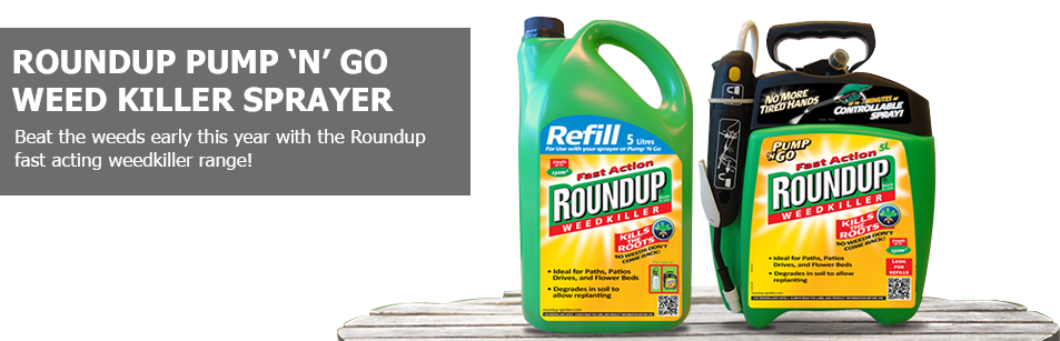 Roundup Pump and Go Weed Killer