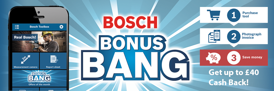Bosch Bonus Bang Cash Back Deal