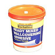 1kg Bucket Ready Mixed Wallcovering Adhesive