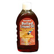 500ml Flask  Boiled Linseed Oil