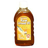 500ml Flask Raw Linseed Oil