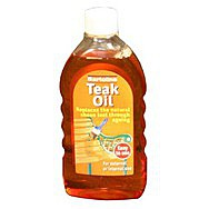 500ml Flask Teak Oil