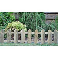 Apollo 75819 Cottage Picket Fence 1110mm x 280mm Pack of 3
