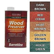 Barrettine Wood Preserver 1L - Golden Brown