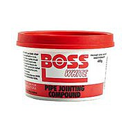 Boss White Pipe Jointing Compound 400g.