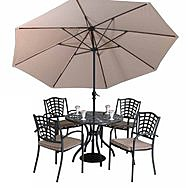 Canterbury Table & Chair Garden Furniture Set