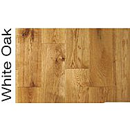 Cheetah Pre-Finished Rustic White Oak Solid Hardwood Flooring 2.112m²