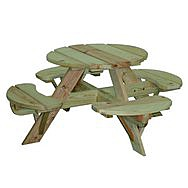 Children's Garden Picnic Table and Bench
