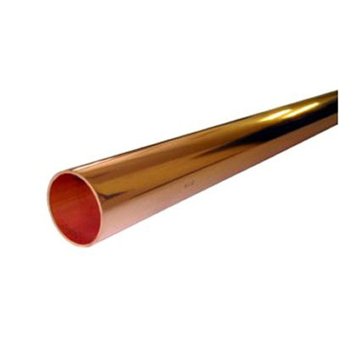 Copper plumbing pipe 15mm x 1m ray grahams diy store for Copper pipe cost