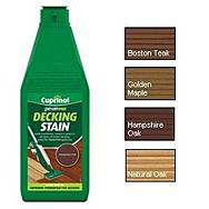 Cuprinol Power Pad Decking Stain 1L - Boston Teak