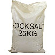 Pure Rock Salt 25 Kilo Bag De Icing Rock Salt 25kg
