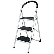 Draper 04679 3 Tread Steel Step Ladder To En14183