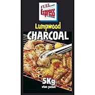 Fuel Express Easy Lighting BBQ Lumpwood Charcoal 5kg
