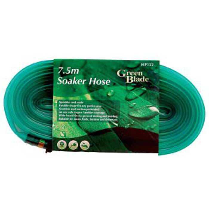 green blade 15m soaker hose ray grahams diy store