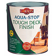 Liberon Aqua-Stop Tough Deck Finish 2.5L - Burmese Teak
