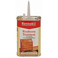 Rentokil Woodworm Treatment - 125ml