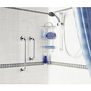 "Showerdrape 18"" Grab Bar Stainless Steel"