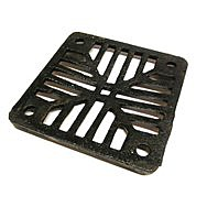 Square Cast Iron Gully Grid 300 x 300mm