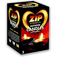 Zip Outdoor Candles - 3pk