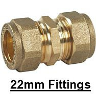 22mm Compression Fittings