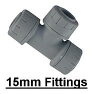 15mm Polyplumb Fittings