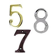 Door Plaques &amp; Numbers