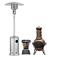 Chimineas And Patio Heaters