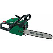 Draper 45579 Petrol Chainsaw 400mm 37cc With Oregon Chain And Bar