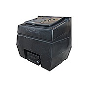 Titan 12 Bag Coal Bunker Black 600 Kilo Capacity BO600