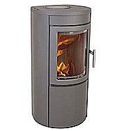 Heta Scanline 500 Wood Burning Stove 8 Kilowatt Danish Design Stove
