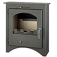 Bohemia X 40 Inset Multi Fuel Stove 4-5 Kilowatt Defra Approved