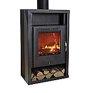 Aduro Asgard 2 Wood Burning Stove 5 Kilowatt Small Stove