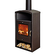 Aduro Asgard 3 Wood Burning Stove 6 Kilowatt Arched Top Stove