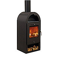 Aduro Asgard 4 Wood Burning Stove 6 Kilowatt Arched Style Stove