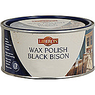 Liberon Black Bison Wax Polish Tudor Oak 500ml