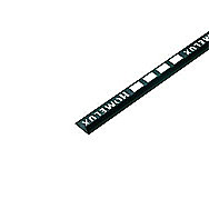 Homelux PVC Tile Trim Black  Finish 12.5 mm