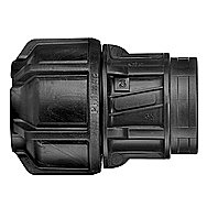 Philmac Alkathene Female End Connector 25mm x 3/4 Inch BSP - 9832