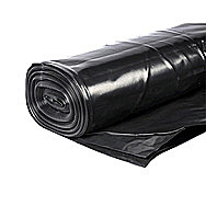 Builders Black Standard Polythene 4 x 25 Meters
