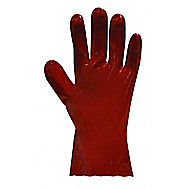 Andersons Red PVC Gauntlet Gardening Gloves