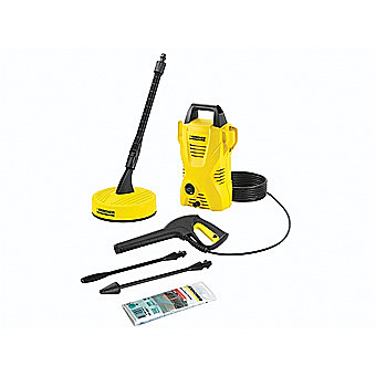 Karcher K2 Compact Pressure Washer With Patio Accessory Kit 16731270