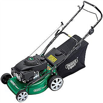 Draper 08401 Petrol Lawn Mower 400mm Lawnmower 16 Inch LMP401