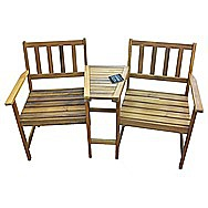 Donard Tete-A-Tete 2 Person Garden Bench