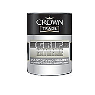 Crown Fast Drying MDF Primer In White 2.5 Litre Tin