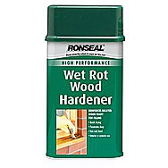 Ronseal High Performance Wet Rot Wood Hardener 0.5 Litres