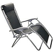 Textoline Adjustable Reclining Garden Seat Lounger