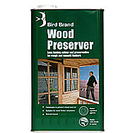 Bird Brand Complete Wood Preserver Clear 5 Litre